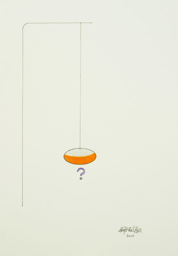 question mark, 2010,