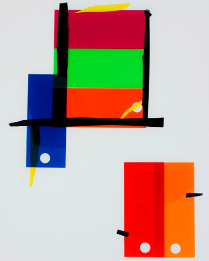 color blocks,