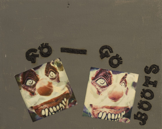 go-go boots devious clown