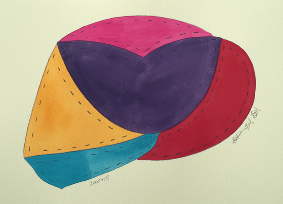 organelle, ellsworth kelly, color block,