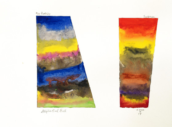 natural gas, new planets, watercolor, gas,
