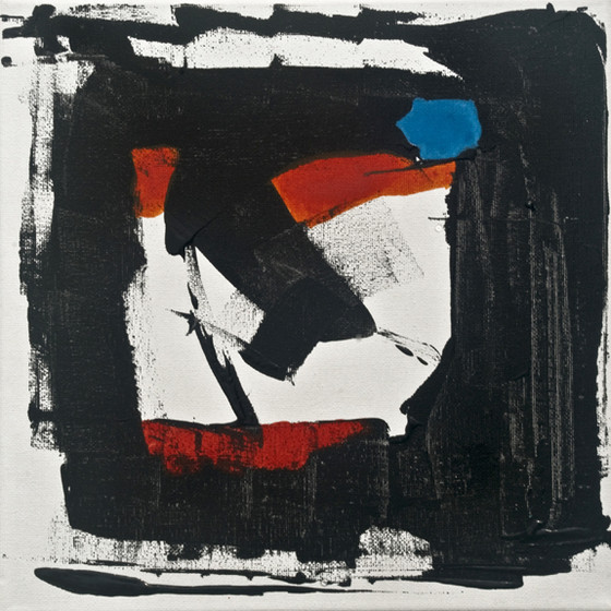 face, abstract, mid century modern,