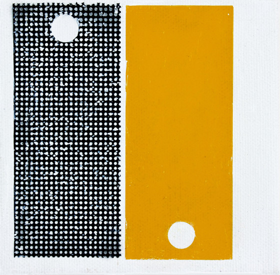 black yellow plastic